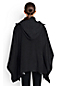 Women's Regular Double-face Wool Blend Poncho
