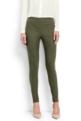 Women's Regular Bi-stretch Ankle Zip Skinny Trousers