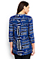 Women's Regular Print Popover Tunic Blouse