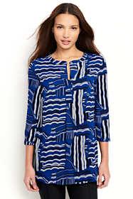 Women's 3/4 Sleeve Pullover Tunic