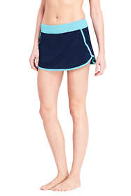 Women's Dolphin Hem Mini SwimMini Swim Skirt