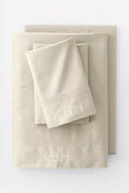 Garment Washed Sateen Solid Pillowcase