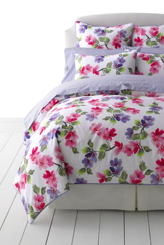 no iron supima floral duvet cover - Floral Duvet Covers