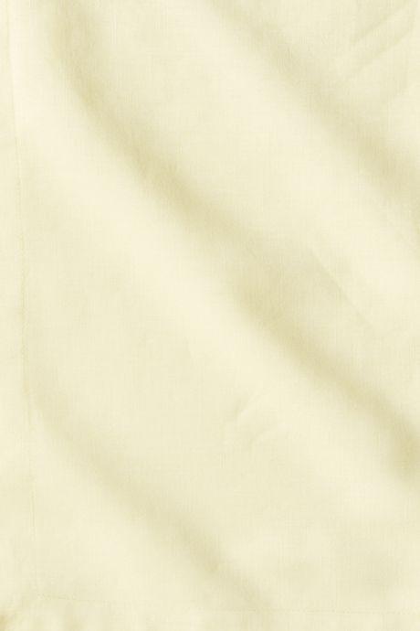 Garment Washed Linen Solid Duvet Cover