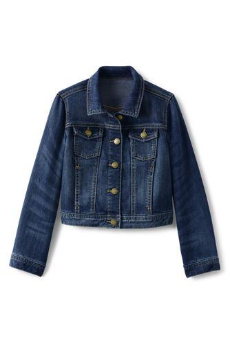 Jeansjacke für große Mädchen