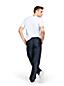 Men's Regular Linen/Cotton Cargo Trousers