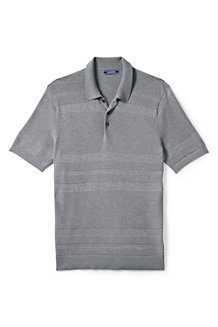 Men's Fine Gauge Polo