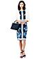La Robe Fourreau Stretch Fleurie, Femme Stature Standard