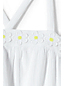 Girls' Daisy Appliqué Smock Top