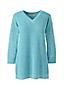 Leinen/Baumwoll-Pullover mit Pointelle-Muster für Damen