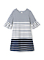 Girls' Bell Sleeve Ponte Dress