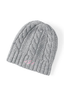 Women's Cashmere Cable Knit Hat