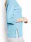 Le Haut en Lin et Coton Couleur Métallisée,Femme Stature Standard