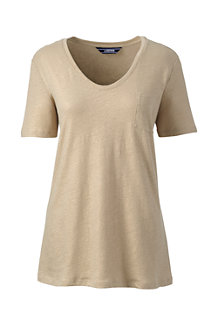 Women's Metallic Pocket Tee