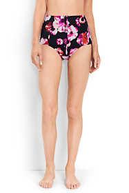 Women's Retro High Waist Bikini Bottoms