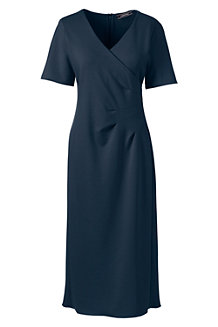 Women's Lightweight Ponte Jersey Dress