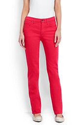 Women's Mid Rise Straight Leg Jeans