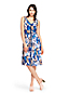 Women's Printed Pleat Skirt Dress