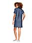 La Robe Chemise en Coton et Lin, Femme Stature Standard