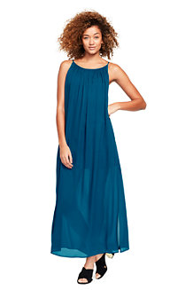 Women's Silk Georgette Maxi Dress