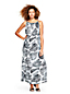 Women's Print Silk Georgette Maxi Dress