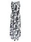 La Maxi Robe en Soie Imprimée, Femme Stature Standard