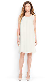 Sale Geniue Stockist Buy Cheap Low Price Fee Shipping Womens Petite Engineered Stripe Ponte Jersey Dress - 14-16 Lands End Sast Sale Online ExefuyVT
