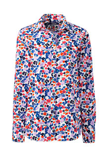 Women's Classic Fit Print Non-iron Supima Shirt