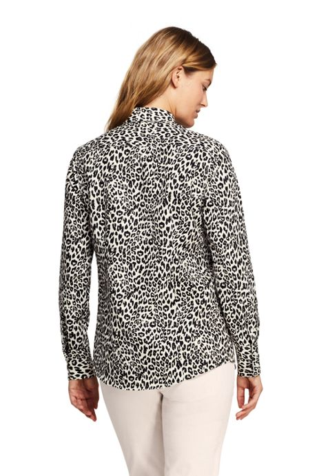 Women's No Iron Supima Cotton Long Sleeve Shirt
