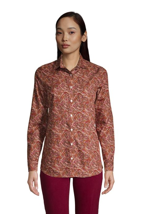 Women's Traditional No Iron Dress Shirt