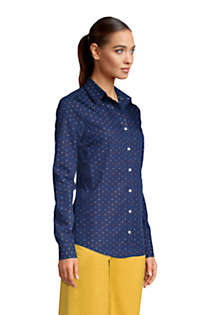 Women's Tall No Iron Supima Cotton Long Sleeve Shirt, Unknown