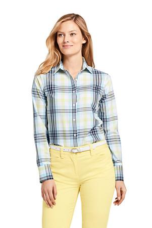 7ecf06e4f La Chemise Facile d'Entretien à Motifs, Femme Stature Standard
