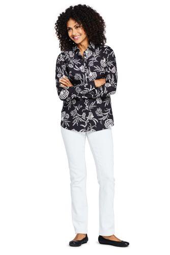Women's Tall No Iron Supima Cotton Long Sleeve Shirt