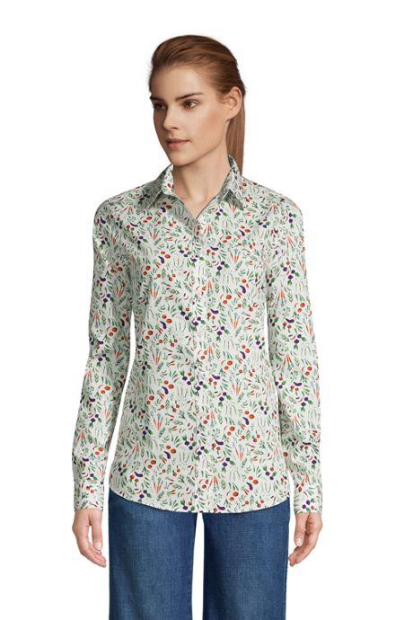 Women's No Iron Supima Cotton Long Sleeve Shirt