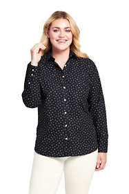 Women's Plus Size No Iron Dress Shirt