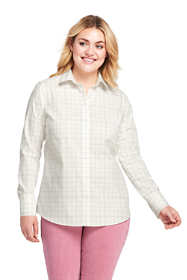 Women's Plus Size Supima Cotton No Iron Shirt