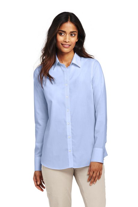 Women's Petite Supima Cotton No Iron Shirt