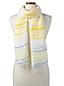 Leichter Streifen-Schal für Damen