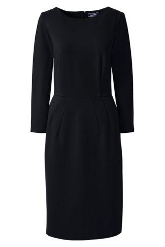 La Robe Ponté Unie, Femme Stature Standard