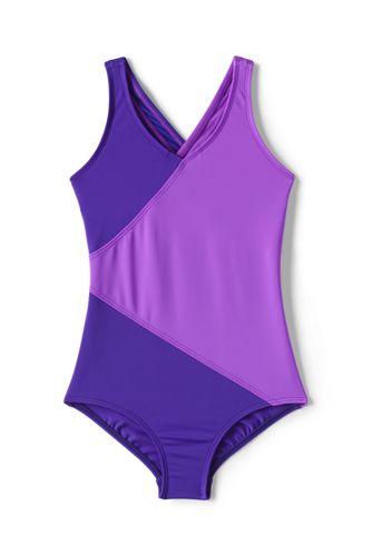 Badeanzug Colorblock für kleine Mädchen