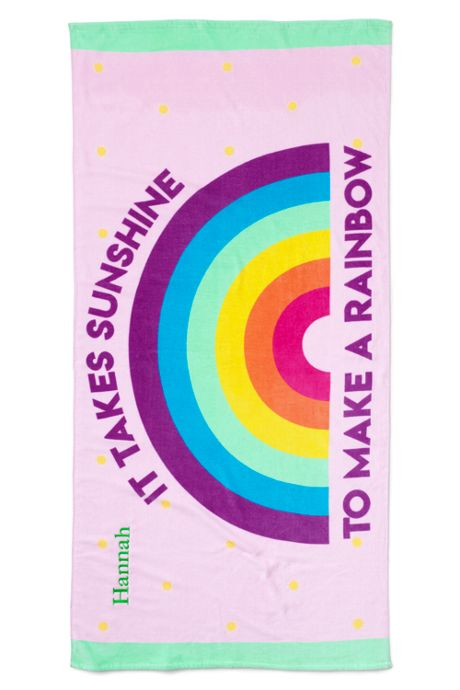 Kids Color Change Beach Towel