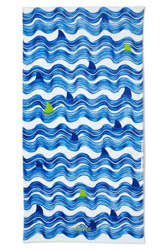 Velours-Strandtuch für Kinder