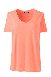 Baumwolle/Modal-Shirt mit Brusttasche