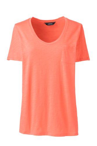 Women's Short Sleeve Pocket T-shirt