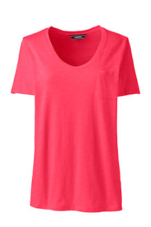Women's Short Sleeve Pocket Tee