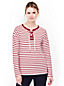 Women's Starfish Striped Jersey Lace-up Top