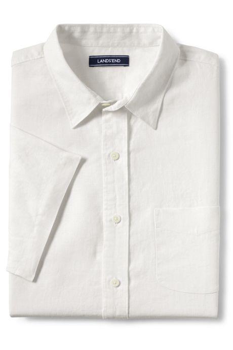 Men's Tall Tailored Fit Linen Shirt