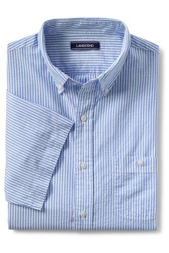 Men's Tall Short Sleeve Seersucker Shirt
