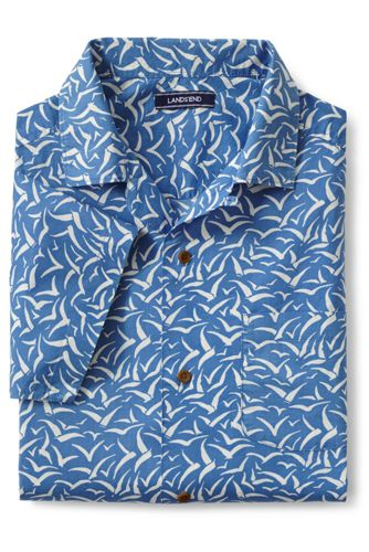 Men's Regular Printed Short Sleeve Shirt