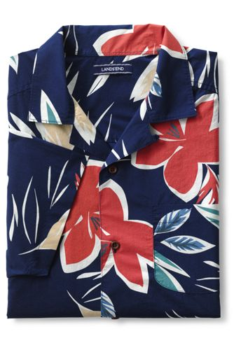 Men's Regular Printed Short Sleeve Shirt